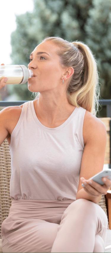 Woman Drinking Origin